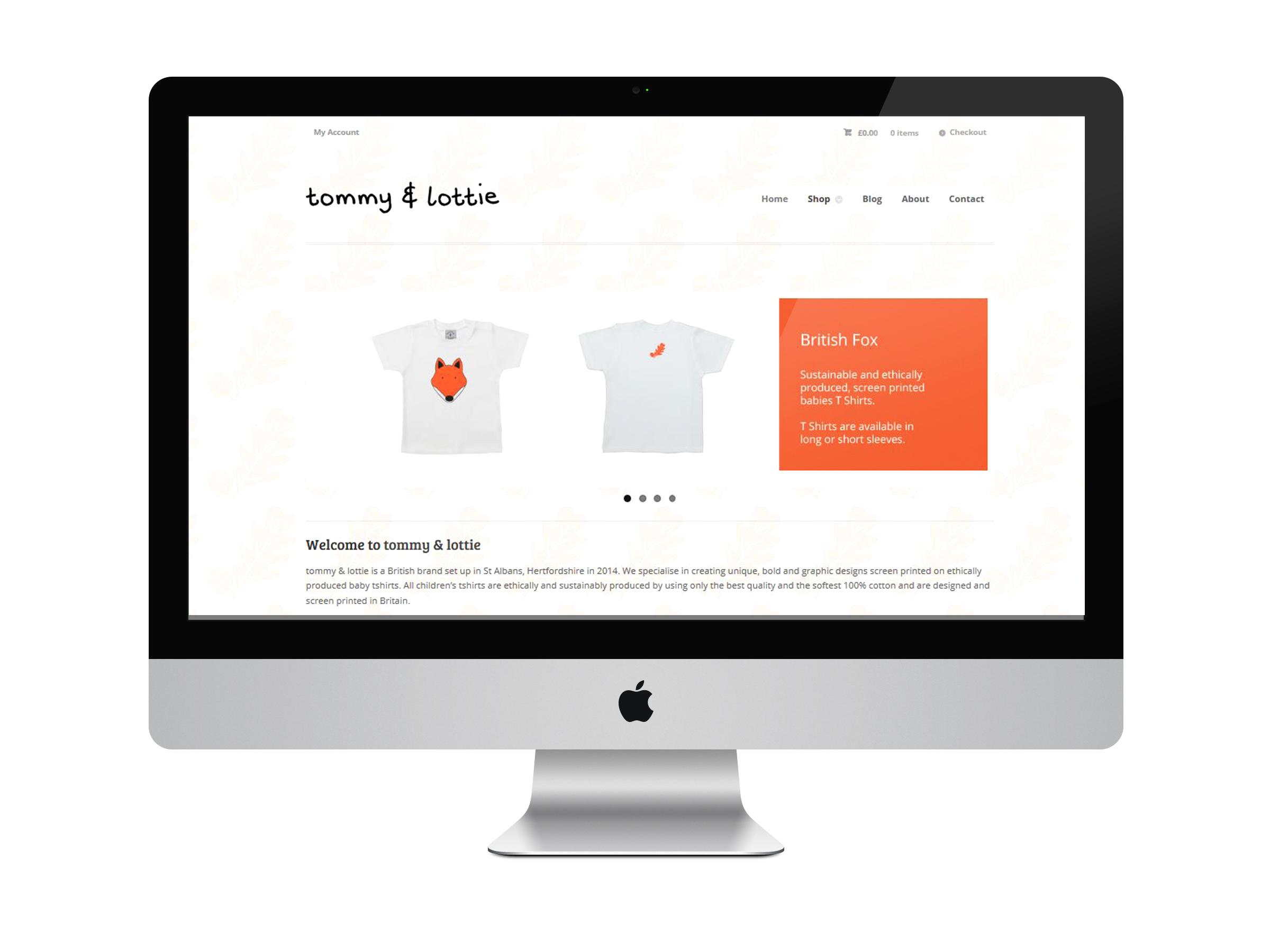 Tommy & Lottie Website