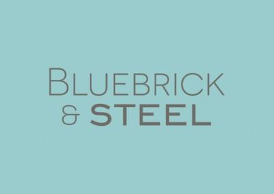 Brand Identity and website design: Bluebrick & Steel Ltd