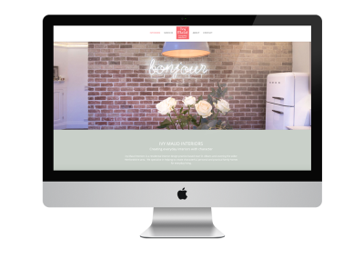 Website Design: Ivy Maud Interiors