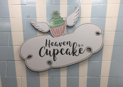 Brand identity refresh and website design – Heaven is a Cupcake