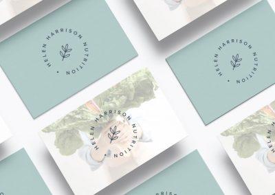 Helen Harrison Nutrition – Brand Identity and Website | Lacon Design